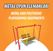 METAL AND POLYTHENE PLAYGROUND EQUIPMENTS